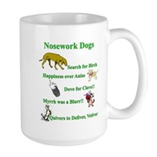 Nosework Dogs Working Mugs
