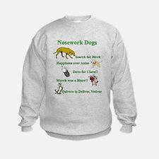Nosework Dogs Working Sweatshirt