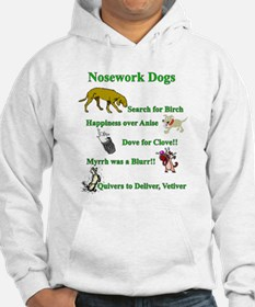 Nosework Dogs Working Hoodie
