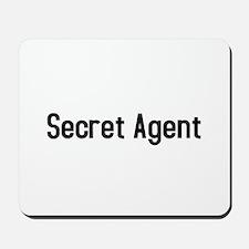 Secret Agent Mousepad