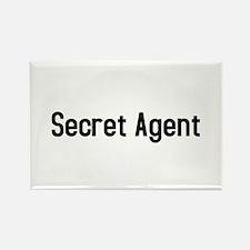 Secret Agent Rectangle Magnet