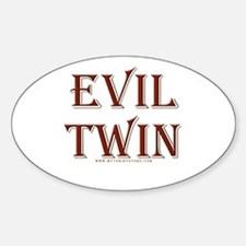 Evil Twin Oval Decal