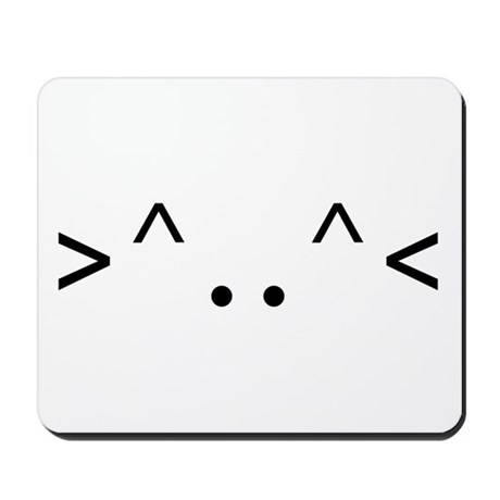 < KITTY > CODE Mousepad