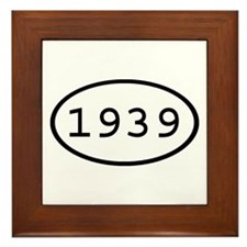 1939 Oval Framed Tile