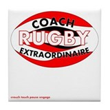 Rugby coach Drink Coasters
