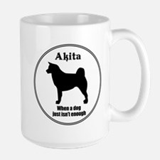 Akita Enough Mug
