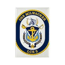 USS Milwaukee LCS-5 Magnets