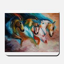 three spirits Mousepad