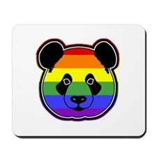 panda head pride Mousepad
