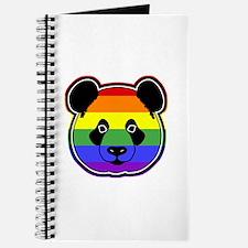 panda head pride Journal