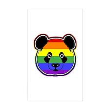 panda head pride Decal