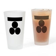 Ichi-moji-ni mitsu-boshi for Fuchu Drinking Glass