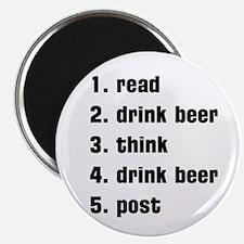 drink beer Magnet