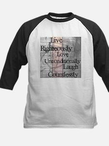 Live, Love, Laugh Baseball Jersey