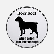 Boerboel Enough Ornament (Round)