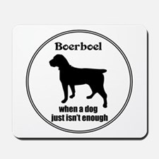 Boerboel Enough Mousepad