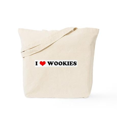 I Love Wookies - Tote Bag