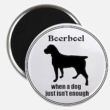 Boerboel Enough Magnet