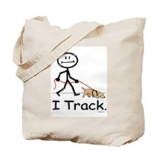 Dog Tracking Tote Bag