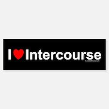 Intercourse Sticker (Bumper)