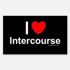 Intercourse Sticker (Rectangle)