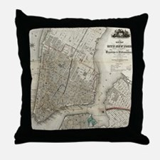 Cute Williamsburg brooklyn Throw Pillow