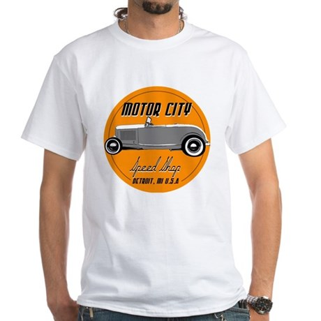 hotrod-mcss-orange-circlular T-Shirt
