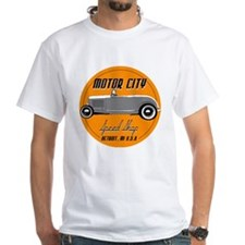 hotrod-mcss-orange-circlular T-Shirt