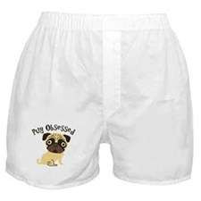 Pug Obsessed Boxer Shorts