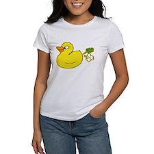 Farting duck logo T-Shirt