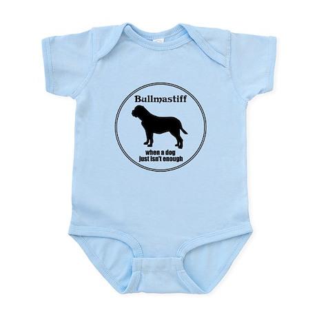 Bullmastiff Enough Infant Bodysuit