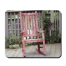 Red Rocking Chair Mousepad