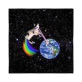 Space cat Queen Duvet Covers