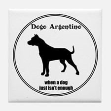Dogo Enough Tile Coaster