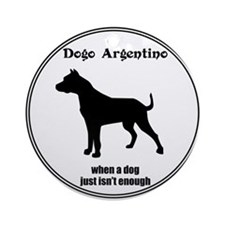 Dogo Enough Ornament (Round)