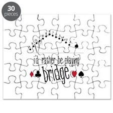 id rather be playing bridge Puzzle