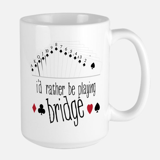 id rather be playing bridge Mugs