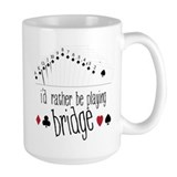 Bridge player Large Mugs (15 oz)