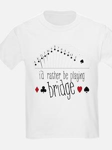 id rather be playing bridge T-Shirt