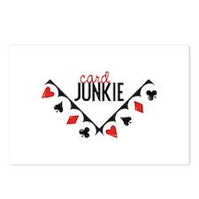 Card Junkie Postcards (Package of 8)