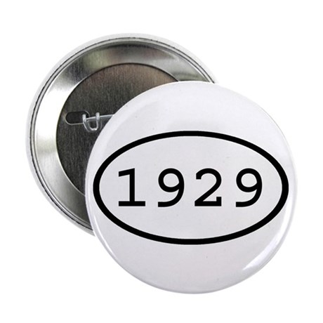 """1929 Oval 2.25"""" Button (10 pack)"""