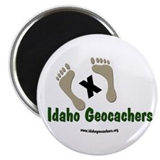 "Cute Geocacher 2.25"" Magnet (10 pack)"