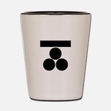 Ichi-moji-ni mitsu-boshi for Fuchu Shot Glass