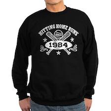 Baseball Birthday 1984 Sweatshirt