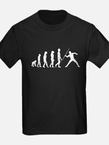 Distressed Javelin Throw Evolution T-Shirt