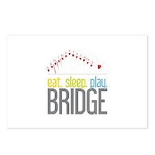 eat.sleep.play BRIDGE Postcards (Package of 8)