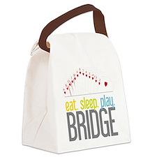 eat.sleep.play BRIDGE Canvas Lunch Bag