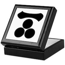 Kanji numeral one and three stars Keepsake Box