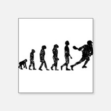 Distressed Lacrosse Evolution Sticker