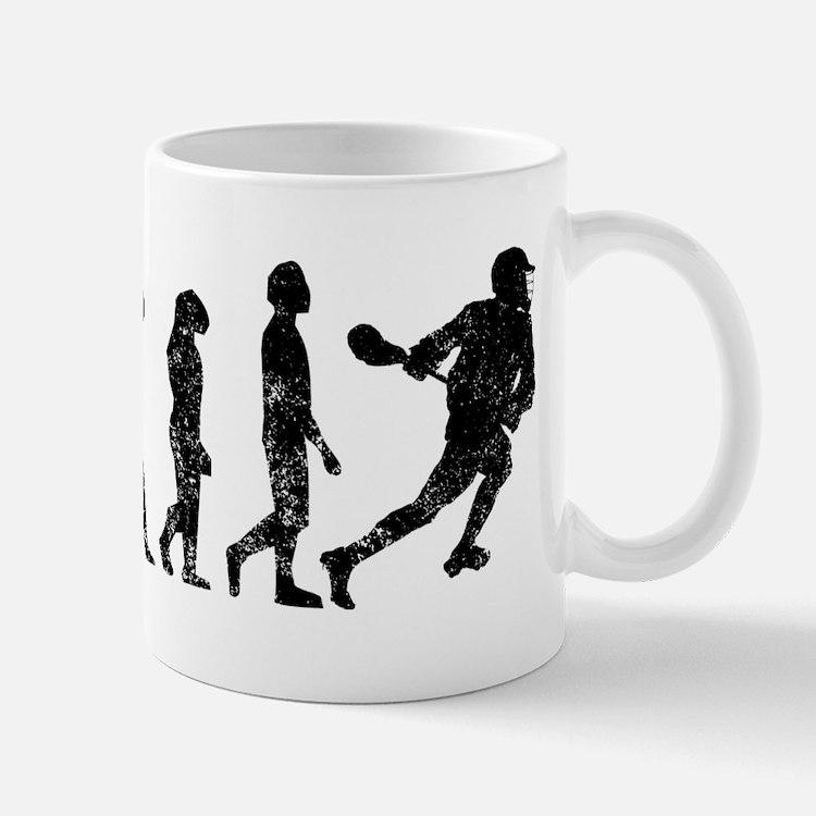 Distressed Lacrosse Evolution Mugs